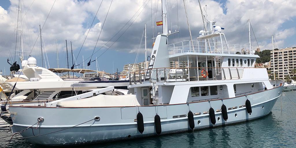 Drettmann Preowned Yachts - Round Bilge Explorer / Norwegean Supply Vessel