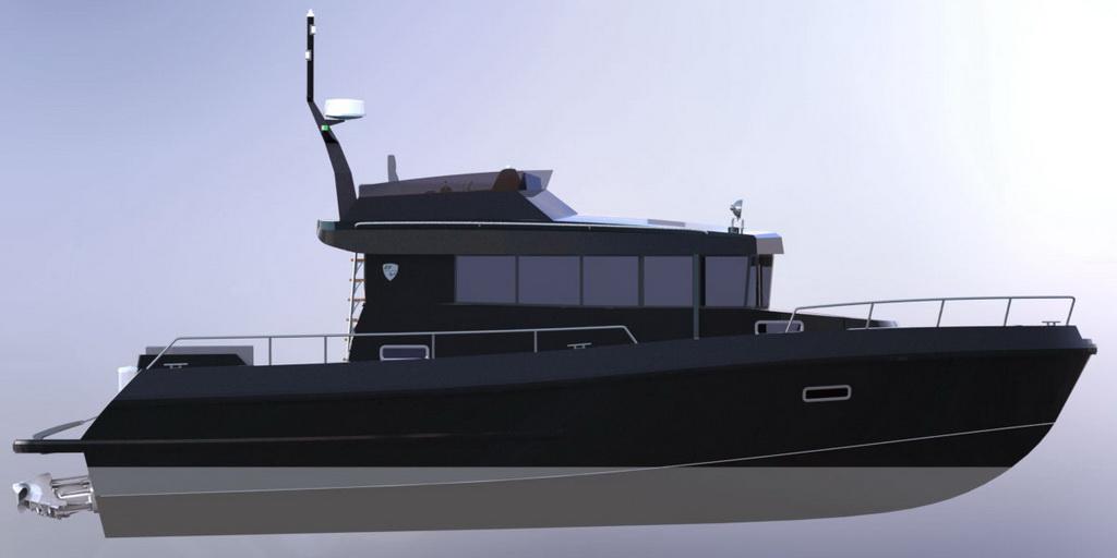 Drettmann Preowned Yachts - Brizo 42 Flybridge (NEW) / Brizo Yachts