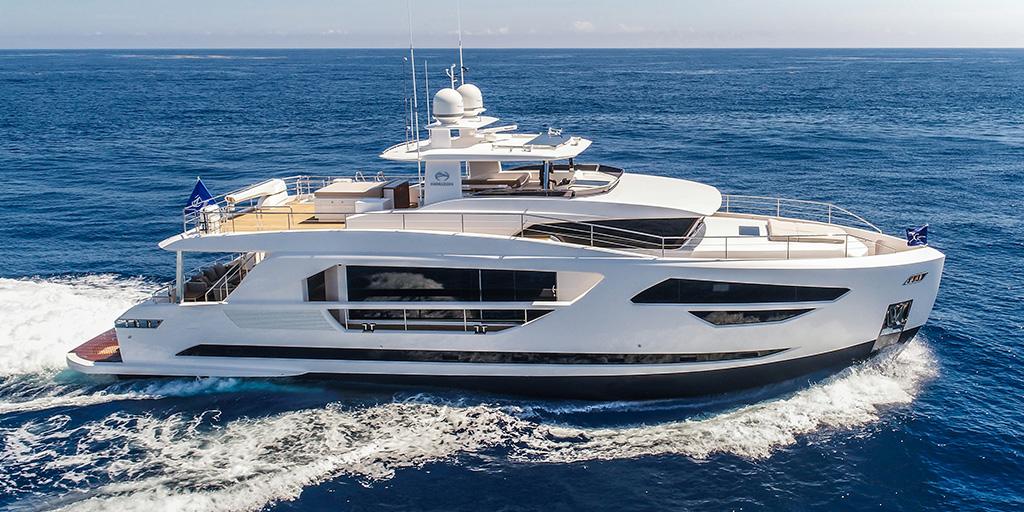 Drettmann Preowned Yachts - Horizon FD85 / Horizon