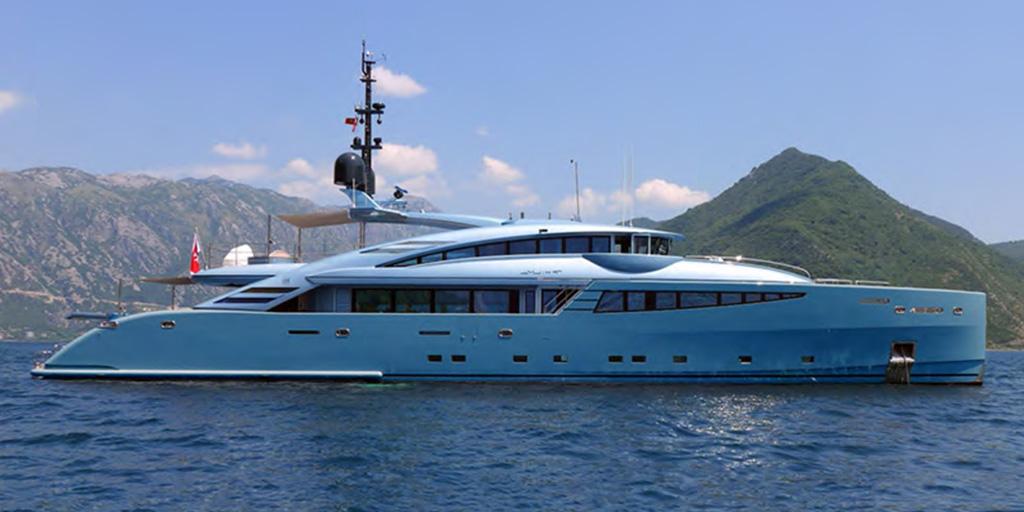 Drettmann Preowned Yachts - ISA 142  42 m / ISA